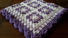 Crochet bebé manta ganchillo bebé afgano abuela cuadrados