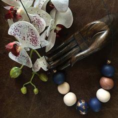 Arcilla del polímero Collar artesanal