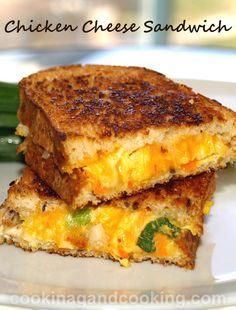 Chicken-Cheese-Sandwich