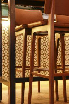 Cement tiles - Project Stan en Co - Cafe - Bar - Restaurant