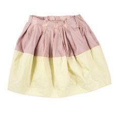 KICOKIDS Bicolor Skirt
