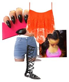 """""""Going to get nails done"""" by vegasdoll143 on Polyvore featuring WearAll and Steve Madden"""