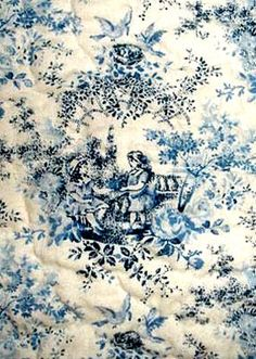 blue toile children - curtains to pick up the dark blue on the sofa and contrast with the red.