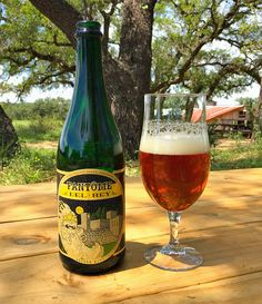 The TX version of Fantôme Del Rey was brewed & blended at #Jester King, follows up on the first beer brewed at Fantôme in 2014 with the legendary Dany Prignon. Brasserie Fantôme is one of our biggest inspirations, especially for our head brewer Garrett Crowell. The TX version of Fantôme Del Rey is a bière de coupage where old, barrel-aged beer is blended with young beer. The older component of the blend was brewed at Jester King in August of 2014 with malted barley, dark candi syrup,