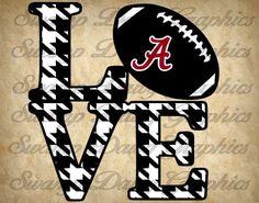 Alabama Love svg alabama roll tide svg by SwampDawgGraphics Crimson Tide Football, Alabama Football, Alabama Crimson Tide, American Football, Lsu, Alabama College, University Of Alabama, Alabama Room, Alabama Quilt