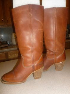 Vintage Zodiac Riding Boots Shoes Womens sz 8M #Zodiac #CowboyWestern