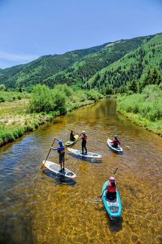 Kayaking Where to eat, drink and hike in Aspen, Colorado like a local does - Whether its your first visit or you want to shake up your standard summer routine, there's much to be discovered underneath the shiny surface. Oh The Places You'll Go, Places To Travel, Places To Visit, Sup Stand Up Paddle, Aspen Colorado, Colorado Trip, Colorado Mountains, Colorado Springs, Best Ski Resorts
