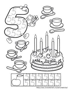 Numbers handwriting sheets for kids Numbers Preschool, Learning Numbers, Math Numbers, Preschool Printables, Preschool Lessons, Preschool Worksheets, Kindergarten Math, Teaching Math, Learning Activities