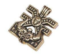 Warhammer 40000 Mark of Khorne pendant by warhammerstore. Explore more products on http://warhammerstore.etsy.com