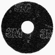 Disco Preto Onix - 3M - 410mm - O Disco Preto Onix é o de maior agressividade dentre todos os discos removedores no procedimento de remoção total.      A operação de remoção total é realizada para remoção de todo o acabamento, selador e contaminantes da superfície do piso, sendo realizada no início do programa de manutenção ou quando a limpeza convencional não mais proporcionar os resultados desejados.   www.colar.com