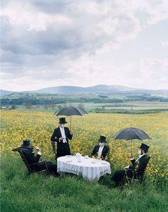 A very strange tea, indeed. Photographer Tim Walker