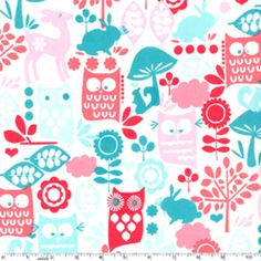 already ordered a fat quarter bundle of michael miller aqua and red, but thinking i need some of this too :)