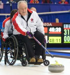 """""""What Is Going On With All The Doping In Wheelchair Curling?"""" Article by Barry Petchesky. Posted on March 16th, 2012, at 10:40am EST on Deadspin.Com! --- Stop reading right now if you'd like to believe that curling, or the Paralympics, or frigging Paralympic Curling is the last bastion of drug-free sports in the world today. Nothing is pure anymore. Jim Armstrong, a member of the Canadian Curling Hall of Fame and skip of Canada's 2010 Vancouver Winter Paralympic gold medal team, will be…"""
