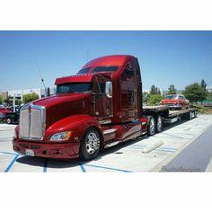 Rv Truck, Big Rig Trucks, Semi Trucks, Cool Trucks, Cool Cars, Custom Big Rigs, Custom Trucks, Quito, Kenworth Trucks