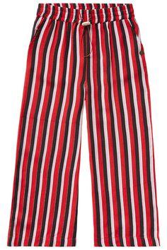 #Vingino #Sheany #Red #Black #White #Stripes #Pants #Kids #Girls #Fashion #Summer #2019 #Meisjes #Broek Kids Girls, Boys, Red Black, Tommy Hilfiger, Trunks, Girl Outfits, Stripes, Clothing, Swimwear