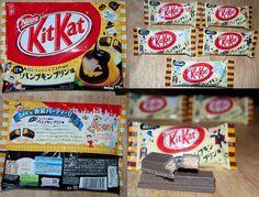 Halloween Pumpkin Pudding Kit Kat, Japan by kalvin1974, via Flickr