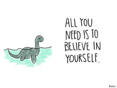 Uplifting Animal Illustrations - These Drawings Reaffirm Through Simple Inspirational Quotes (GALLERY)