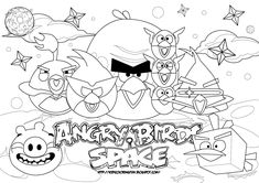 spaceship terms | Angry Birds Space Coloring pages2 Angry Birds Space Coloring pages22 ...