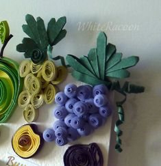 Gifts of summer - Homyachok quilling challenge Paper Quilling, Floral Designs, Card Making, Challenges, Paper Crafts, Seasons, Wine, Vegetables, Summer
