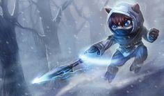 C'est un ninja arctique mignon mais ...