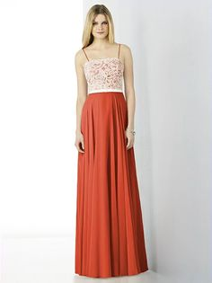 After Six Bridesmaids Style 6732 http://www.dessy.com/dresses/bridesmaid/6732/?color=spice&colorid=1219#.VjKDD0Ao5Ds