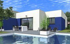 maison contemporaine plain pied - Recherche Google | Maison de plain ...