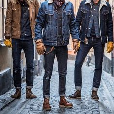 Likes, 19 Comments - Robin Denim ( - Men's Style & Fashion Raw Denim, Men's Denim, Denim Style, Denim Man, Denim Fashion, Fashion Outfits, Fashion Menswear, Style Fashion, Red Wing Boots