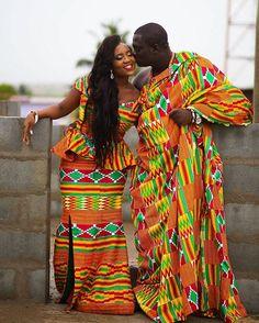 Свадебные наряды. Гана