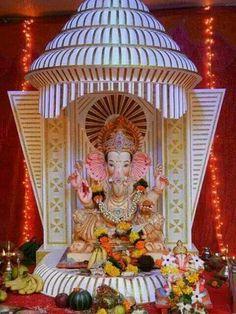 Ganpati Decoration Theme, Ganapati Decoration, Ganesh Chaturthi Decoration, Happy Ganesh Chaturthi, Shri Ganesh Images, Ganesha Pictures, Lord Shiva Hd Wallpaper, Lord Krishna Wallpapers, Lord Ganesha Paintings