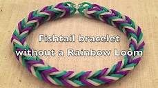 how to make rubber band bracelets without the rainbow loom - Bing Videos