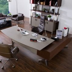 14 best modern executive desk images executive office home office rh pinterest com