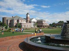 Lee University is a beautiful college in TN!