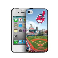 Iphone 4/4S Hard Cover Case - Cleveland Indians