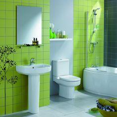 84 best green bathrooms images green bathrooms bathroom ideas rh pinterest com small green bathroom designs green bathroom design photos