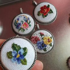 Cross Stitch Needles, Necklaces, Bracelets, Needlework, Decorative Plates, Embroidery, Crafts, Accessories, Cross Stitch