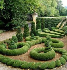 Gorgeous Gardens - Most Amazing Gardens Figures, Designer Gardens hedges Photos of the World - Pelfind