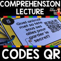 C'est un secret – Compréhension de lecture avec/sans codes QR