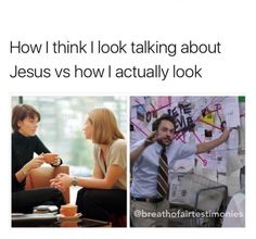 "23 Dank Christian Memes That'll Give You Your Cruci-Fix - Funny memes that ""GET IT"" and want you to too. Get the latest funniest memes and keep up what is going on in the meme-o-sphere. Memes Humor, Funny Memes, Funny Mom Texts, Lds Memes, Dry Humor, Fandom Memes, It's Funny, Funny Fails, Videos Funny"