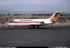 N652TX Continental Airlines McDonnell Douglas DC-9-14, formerly a Texas International plane