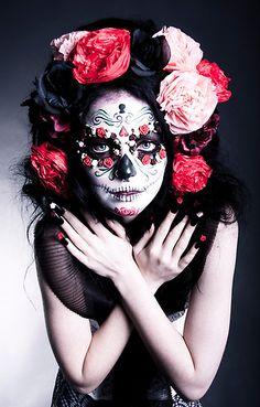 Sugar Skull + Makeup