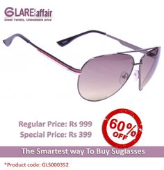 EDWARD BLAZE EB- 8001 GREY/GREEN LENS SUNGLASSES http://www.glareaffair.com/edward-blaze-eb-8001-grey-green-lens-sunglasses.html  Brand : Edward Blaze  Regular Price: Rs999 Special Price: Rs399  Discount : Rs600 (60%)