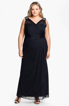 Donna ricco surplice maxi dress