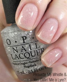 OPI Pirouette My Whistle over You Callin' Me a Lyre? from the New York City Ballet Collection. elegant