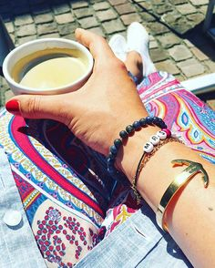 Coffee-Break ️  #accesories #accessories #accessory #armcandy #bracelet #coffee #coffeebreak #color #cuff #details #fashion #fwis #getanchored #Hamburg #hh #instadaily #instafashion #jewellery #jewelry #ootd #paulhewitt #summer #superga #timeforcoffee