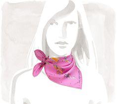 Les+Parisiennes Silk-twill+pocket+square+(45+cm+x+45+cm) 210$