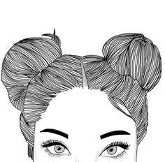 Image via We Heart It #art #black #draw #drawing #eyebrow #eyebrows #eyelash #eyelashes #grunge #hair #heart #outline #white