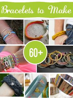 50+ DIY Bracelets - Tutorials