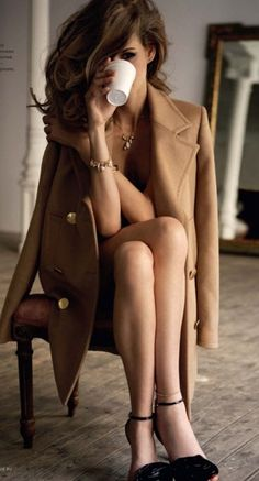 I also like the idea of an long coat. My boyfriend always talks about one that I have that he wants me to wear out of the house one day with nothing on, I may just have to bring it with me :)
