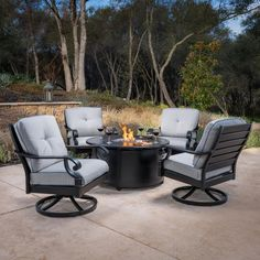 Why Teak Outdoor Garden Furniture? Fire Pit Table Set, Fire Pit Chat Set, Fire Pit Chairs, Fire Pit Patio, Gas Outdoor Fire Pit, Lounge Chairs, Fire Pits, Outdoor Retreat, Outdoor Spaces
