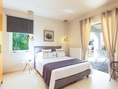Levantes home! Relaxing ambience, car-free holiday, walking distance to shops! Private Pool, Luxury Homes, Swimming Pools, Bbq, Bedroom, Holiday, Furniture, Home Decor, Luxurious Homes